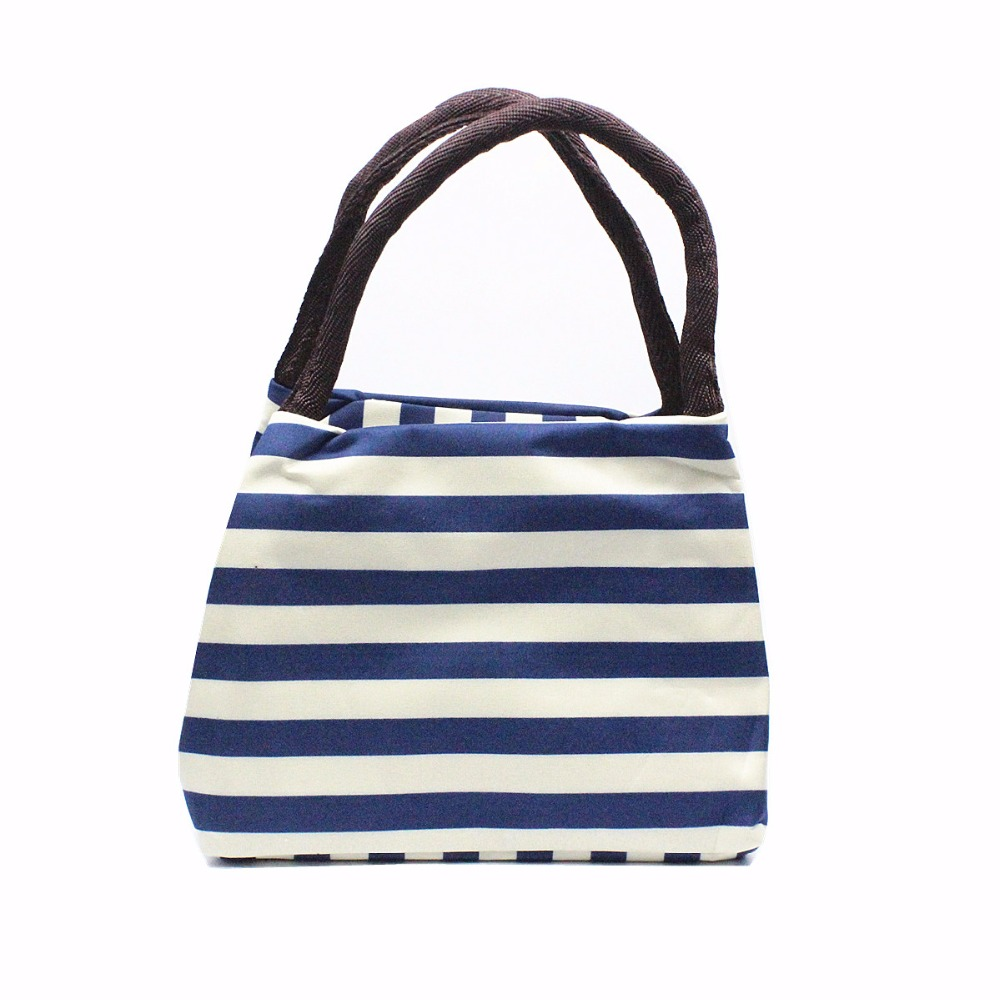 M632-Waterproof-Cloth-Bag-Tote-Striped-Lunch-Bag-Carrying-A-Lunch-Box-Oxford-Cloth-Bag-Mommy