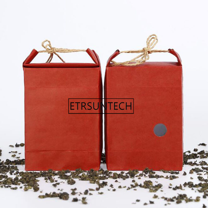 Red-Rice-Tea-Paper-Packaging-Bag-Portable-Kraft-Paper-Weddings-Favor-And-Gift-Bag-With-Window